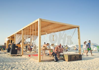 Beach Bar in Mamaia